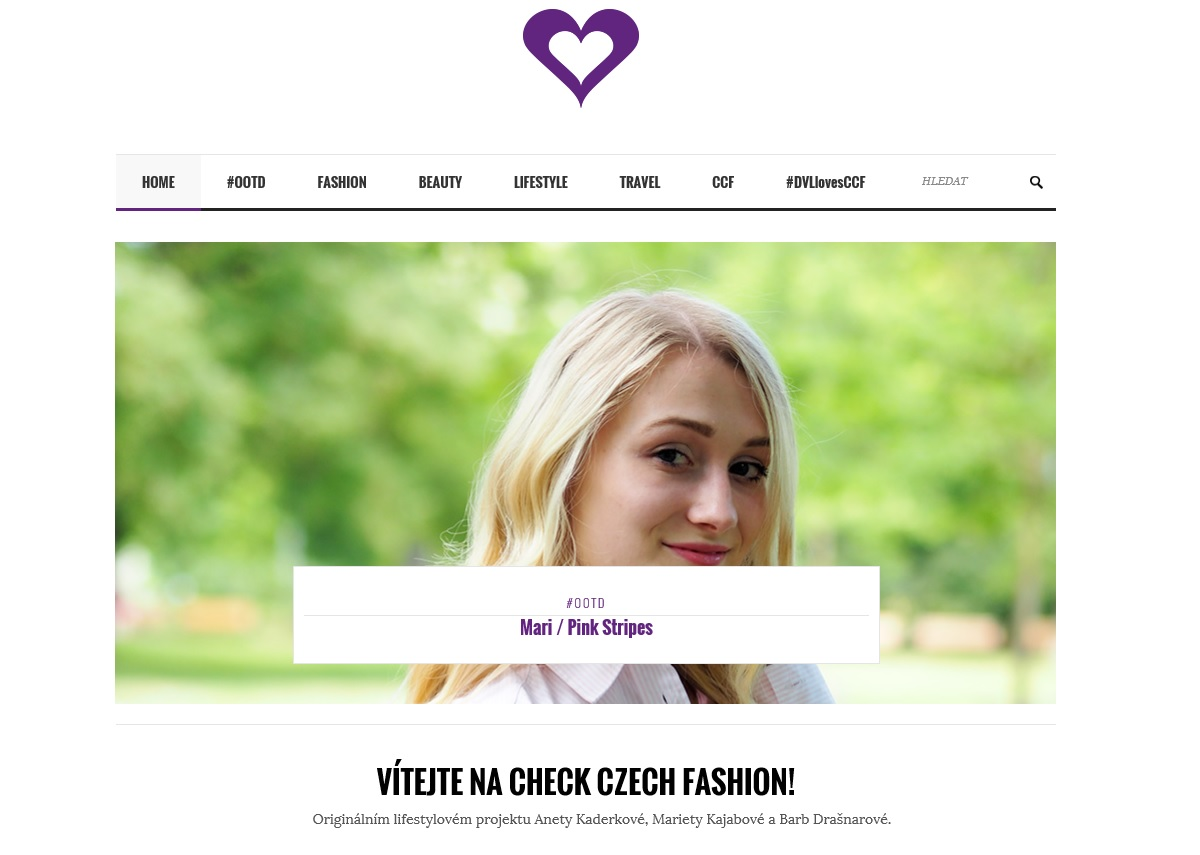 Check Czech Fashion - hl. foto